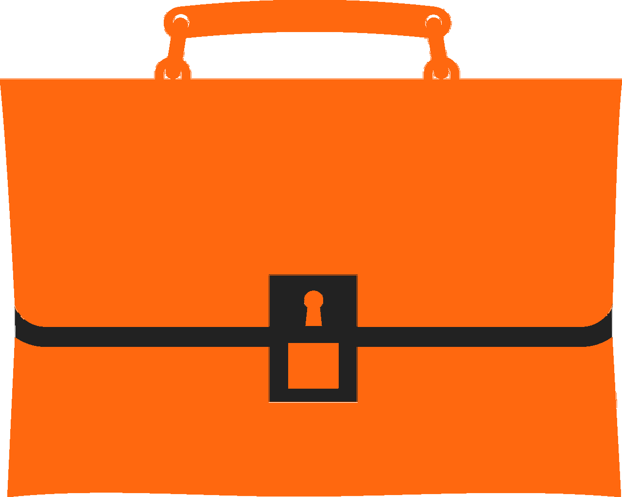 Field Services Icon Briefcase